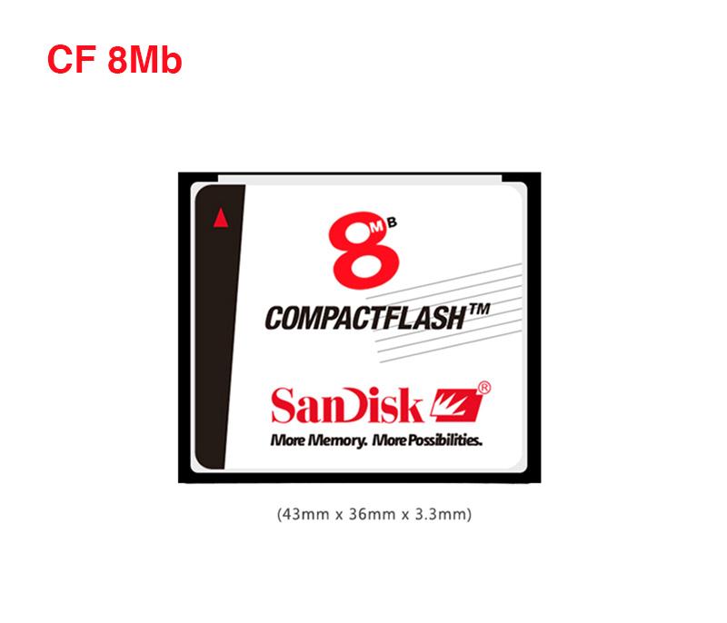 Thẻ nhớ CF Card Sandisk 8Mb dung lượng thấp