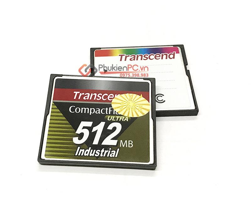 Thẻ nhớ CF Card Transcend 512MB công nghiệp