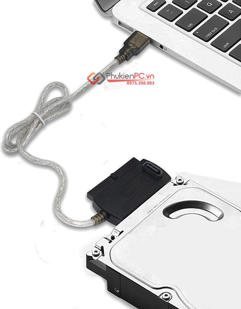Cáp USB sang IDE 44Pin 40Pin SATA