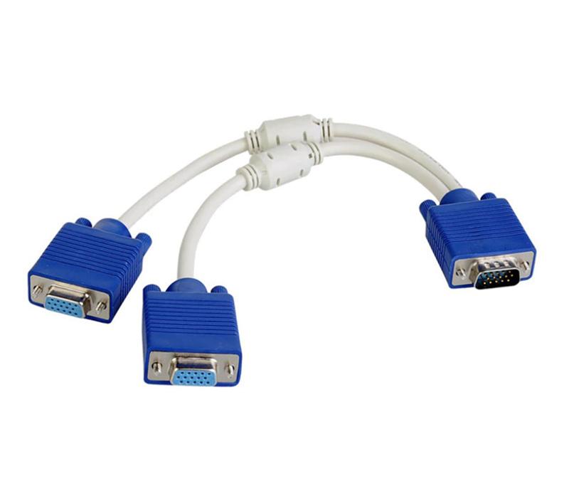 Cáp chia Dsub VGA 1 ra 2 chống nhiễu