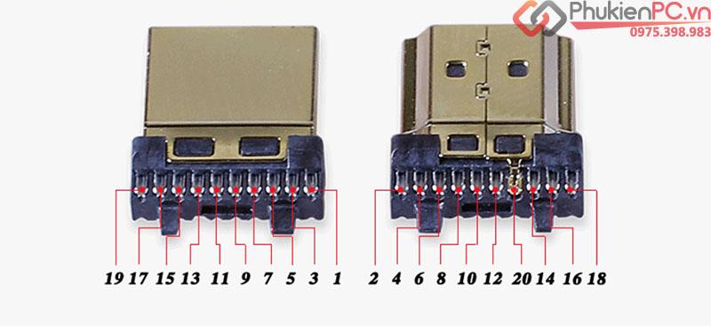 Đầu hàn HDMI 1.4 2.0 OD 10.5mm
