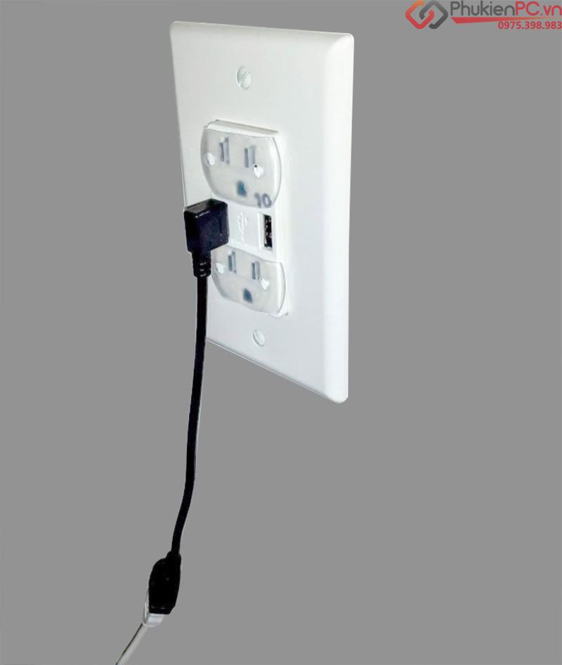 Cáp nối dài USB bẻ góc
