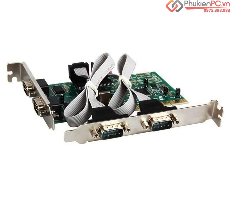 Card PCI to 4 COM RS232 Chip MCS9865