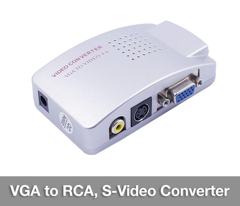 Bộ chuyển đổi VGA sang RCA S-Video