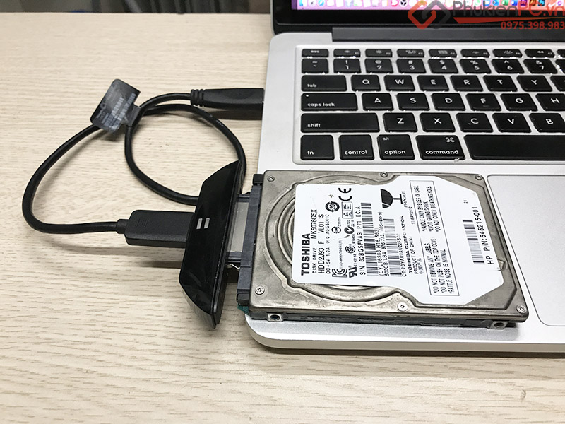 Cáp USB 3.0 sang SATA HDD SSD 2.5, kết nối nhanh ổ cứng sang USB Laptop