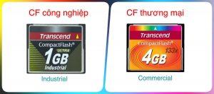 Tìm hiểu về thẻ CF, CF industry công nghiệp và Commercial thương mại