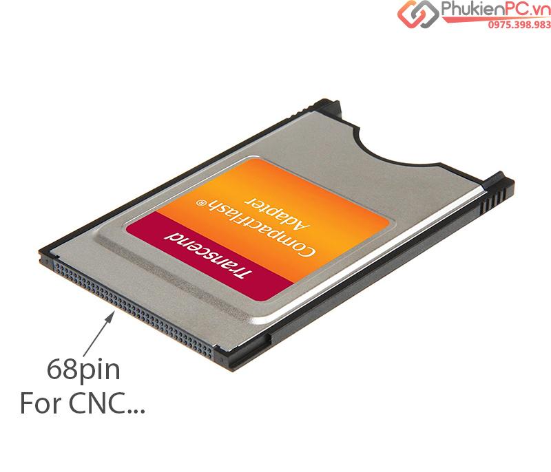 Transcend Adpater CF Card sang PCMCIA 68Pin