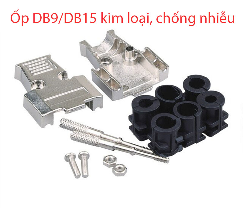 Vổ ốp kim loại cho đầu hàn COM DB9, VGA