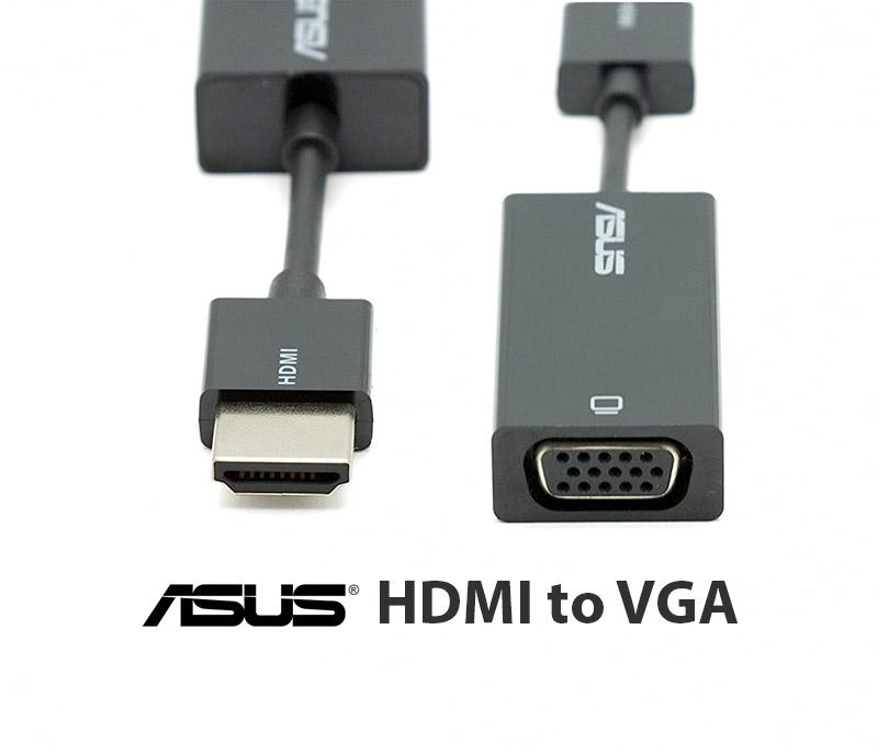 Chuyển đổi HDMI ra VGA ASUS-Kết nối Laptop ra máy chiếu, màn hình máy tính