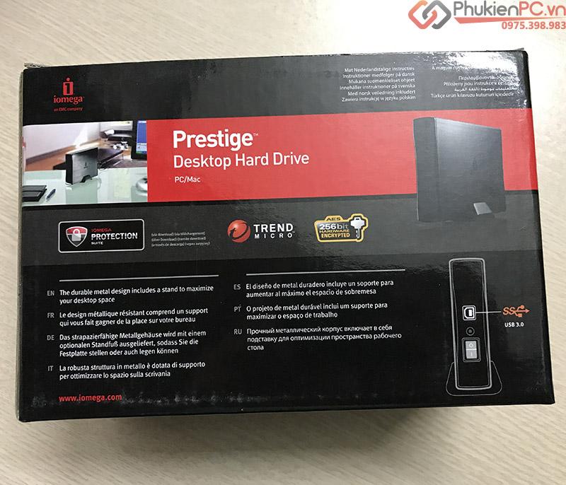 Box ổ cứng HDD 3.5 2.5 thương hiệu iOmega