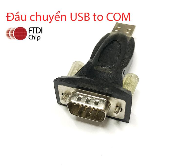 Đầu chuyển USB sang RS232 Z-TEK hỗ trợ Win XP, 7, 8, 10 Chipset FTDI