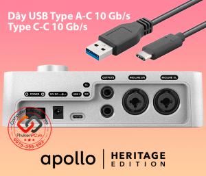 Một số cáp USB Type A-C, C-C 10 Gb/s tốc độ cao HDD SSD Box, Sound card