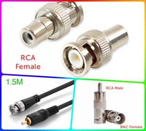 Nơi bán giắc chuyển BNC sang RCA AV, AV sang RCA 2 chiều