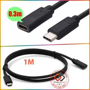 Nơi bán cáp nối dài USB Type C đực-cái 0.3M 0.5M 1M