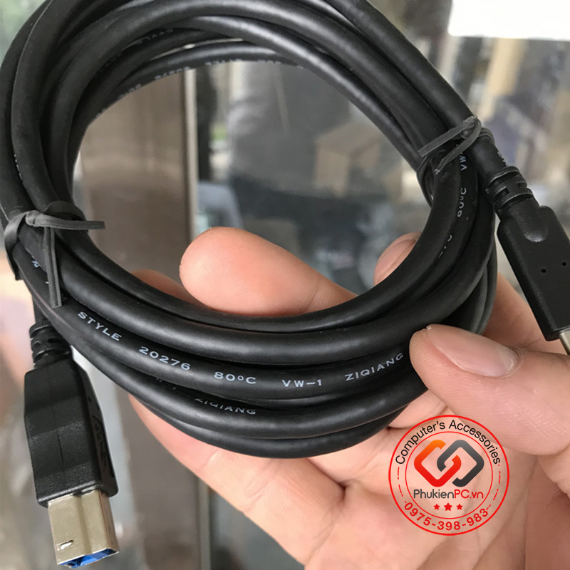 Cáp USB Type C sang USB 3.0 Type B Male 3M